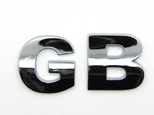 GB - Chrome Letters